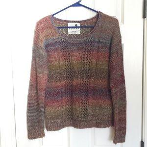 Kenzie multi color sweater sz M